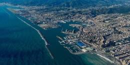 Italy – New breakwater of Genoa Port
