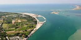 Italy – Lido Treporti inlet in the Venice lagoon