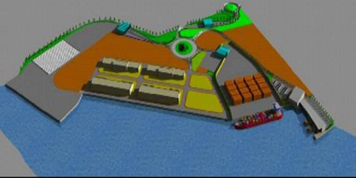Master Plan for the harbour area of Porto Levante on the Po river (Italy)