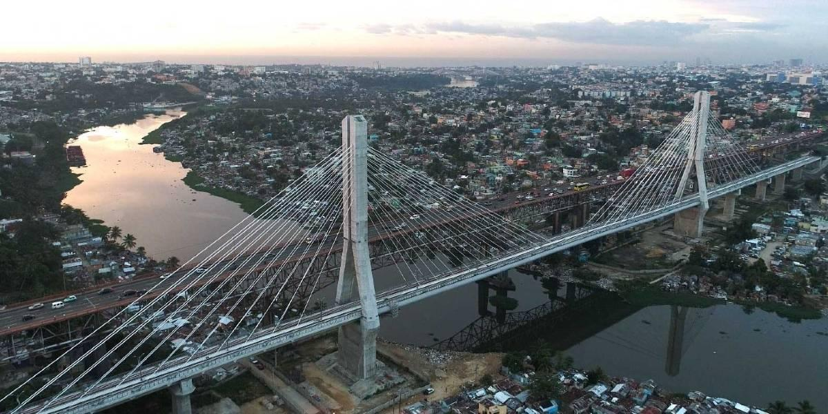 Light Rail 2B of Santo Domingo – Cable stayed bridge over Rio Ozama (Dominican Republic)