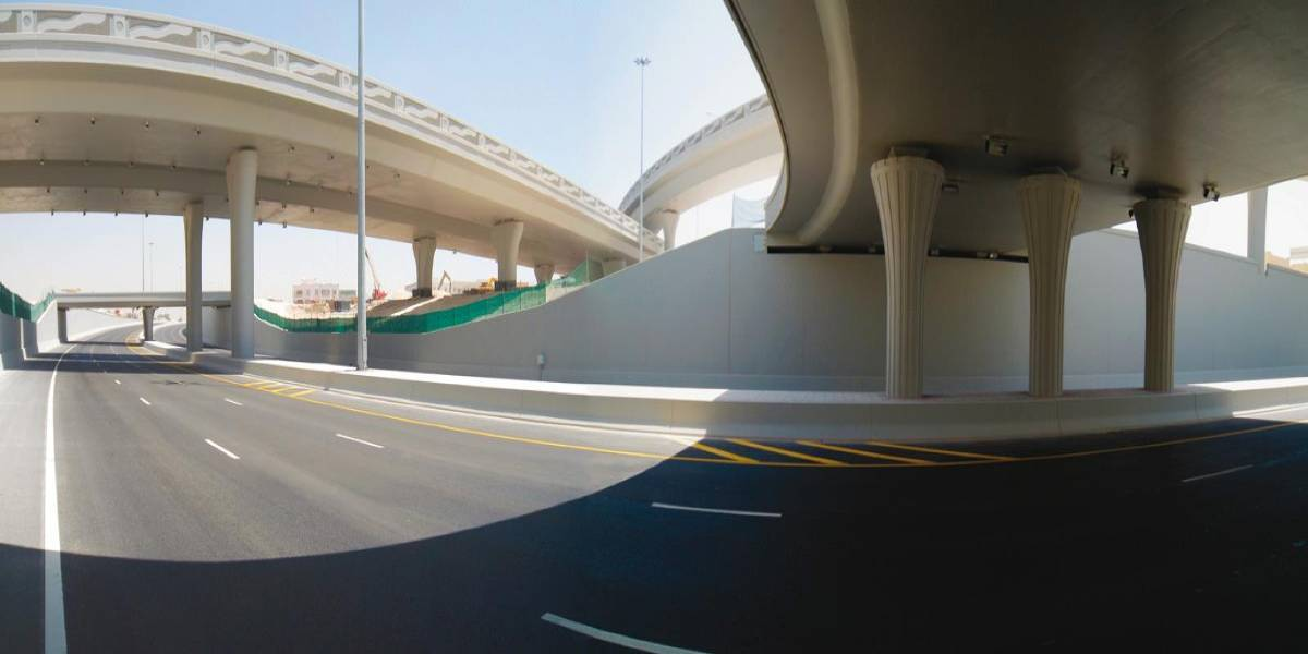 Supervision of construction of Industrial Interchange (Qatar)
