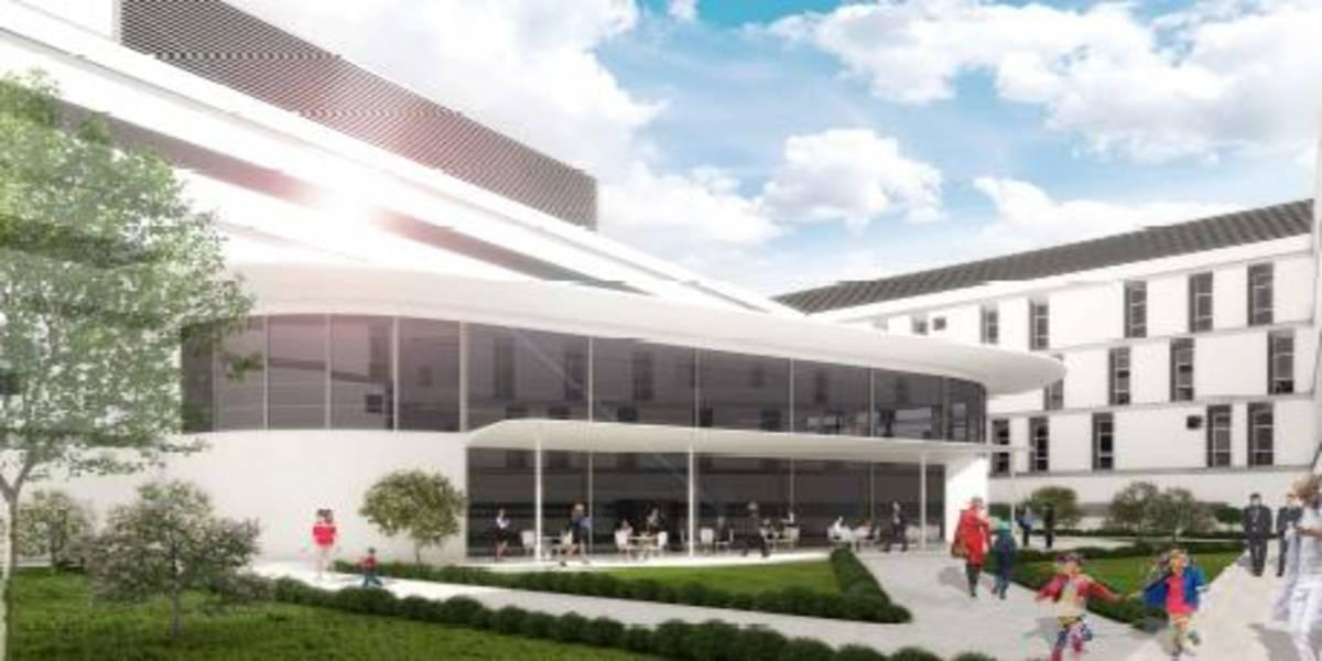 "New hospital ""San Cataldo"" in Taranto (Italy)"