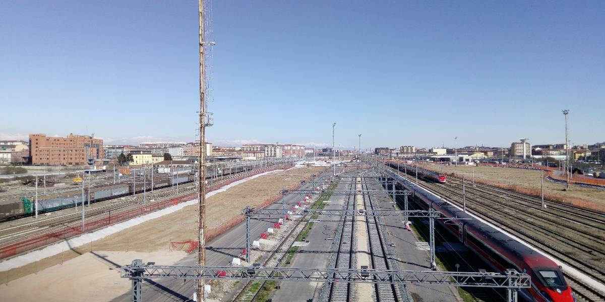 "Detailed design of the New Trenitalia Maintenance Centre in ""Turin Smistamento"" in Turin (Italy)"